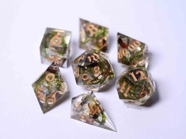 Irish Glen handmade moss dice