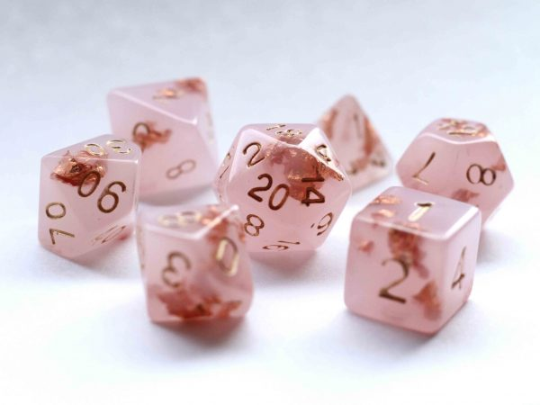 Aphrodite handmade dnd dice