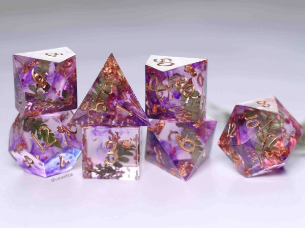 Conjuring the fey handmade dnd dice