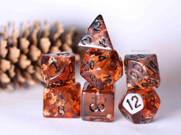 Samhain handmade dnd dice