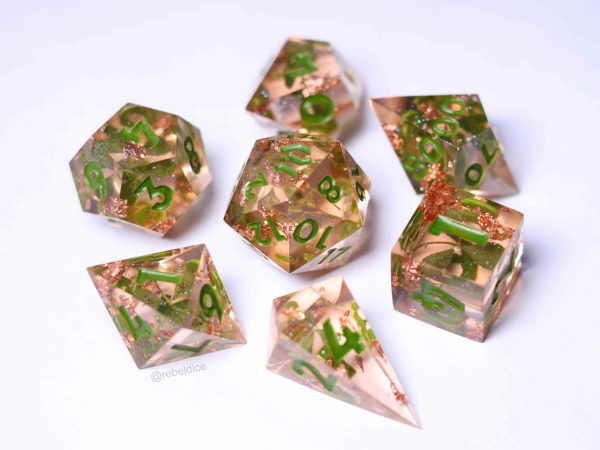Luck of the Irish handmade dice