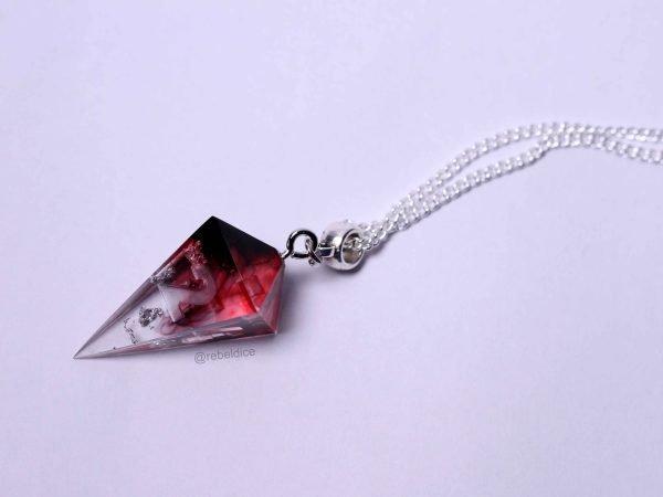 Cursed Blood dice necklace